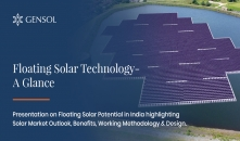 Floating Solar Technology - A Glance!