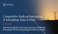 Comparative Study on Forecasting & Scheduling - Solar & Wind