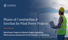 Phases of Construction & Erection for Wind Power Project