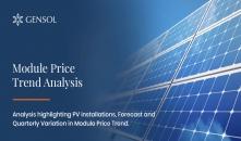 Module Price Trend Analysis