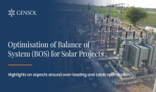 Optimisation of Balance of System (BOS) for Solar Projects